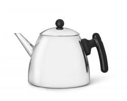 Teapot Duet Classic Black 1.2 liter