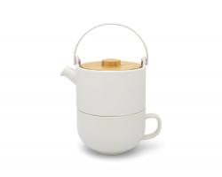 Tea for one Umea white 500ml