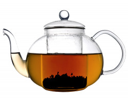Verona single-walled glass teapot 1.0L