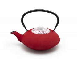 Yantai teapot 1.2L red