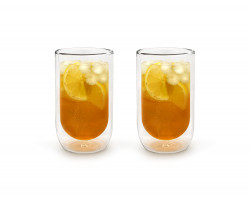 Double walled glass 400ml s/2