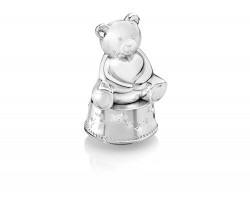 Music box/Money Box Bear with Heart