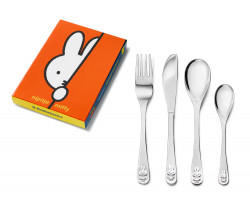 Children's cutlery 4-pcs miffy stainless steel