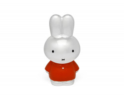 Money box Miffy 65 year silver colour