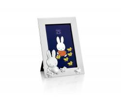 Photo frame miffy with ducks 6x9cm sp/l