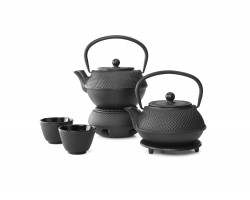 Teapot Cast Iron Jang 0,8L Black