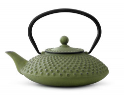 Teapot Xilin 1,25L cast iron green