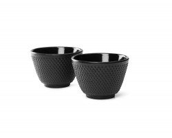 Cups Jang cast iron black s/2