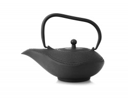 Teapot Aladdin 0.9L cast iron black