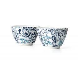 Tea  mugs Yantai dark blue s/2