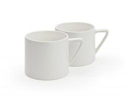 Mugs Lund, white, set of 2