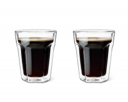 Double walled glass Espresso 220ml s/2
