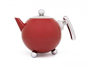 Teapot Bella Ronde 1.2L Red Chrome