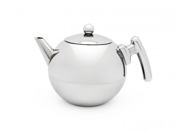 Teapot Duet® Bella Ronde 1.2L, flat bottom, chromium fittings