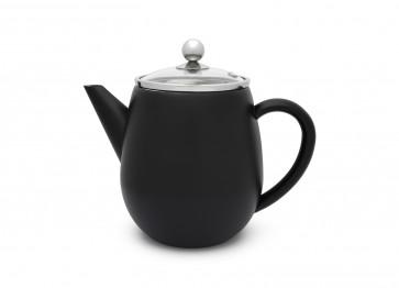 Teapot Duet Eva 1.1L matt black