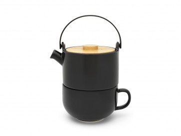 Tea for one Umea black 500 ml
