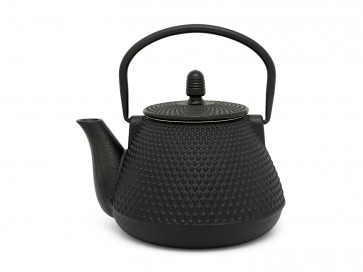 Teapot Wuhan 1.0L cast iron black