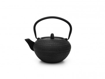 Teapot Tibet 1.2L cast iron black