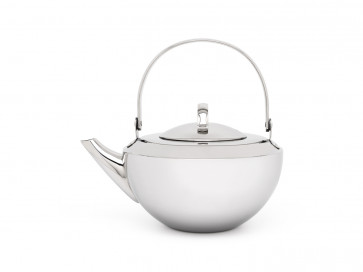 Teapot Riga 0.8L single walled with filter