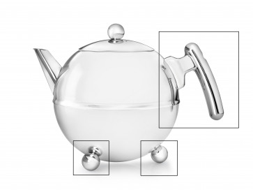 Set: handle and knobs for teapot Duet® Bella Ronde 1303CH/1304CH/7304../1010..