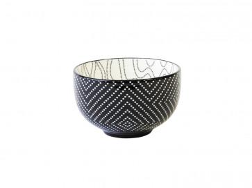 Tea bowl Pucheng 152004 dots / waves