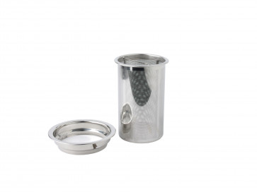 Tea filter and ring for teapot Pisa 1565