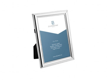 Photo frame Pearl 13x18cm silverplated