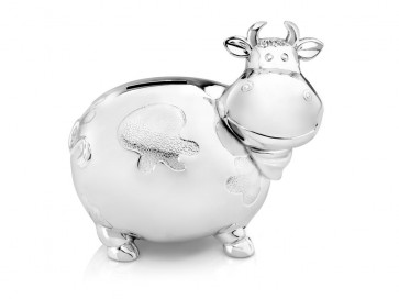 Money Box Cow large sp./lacq.