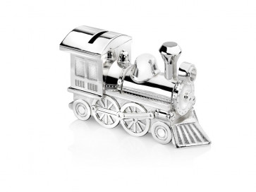Money Box Locomotive 15,5x5,5x8cm sp./lacq.