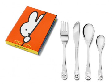 Children's cutlery 4-pcs miffy s/s
