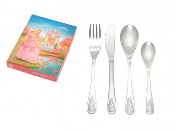Children's cutlery 4-pcs Princess s/s