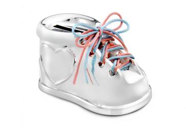 Money box Shoe 2 colour laces sp/l