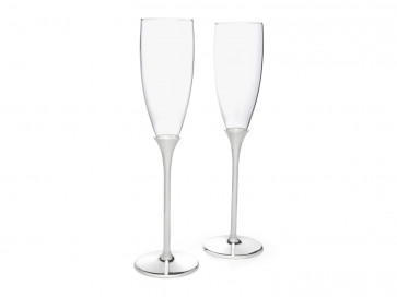 Champagne glasses Smooth s/2 s/s