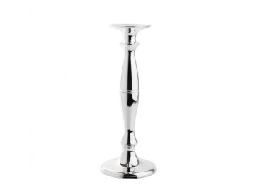 Candelstick Magna, ø14x35cm, silverplated lacquered
