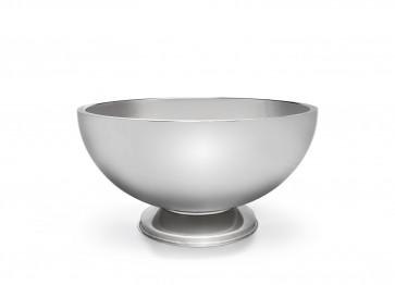 Champagne bowl double walled on base s/s
