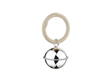 Rattle Ball pearl on ring 925 silver