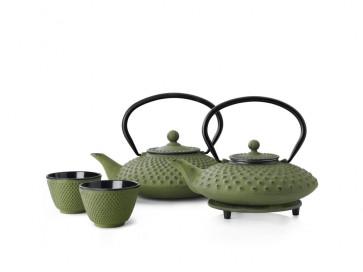 Teapot Cast Iron Xilin 0,8L Green