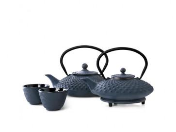 Teapot Cast Iron Xilin 1,25L Blue