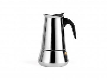 Espressokocher Trevi für 6 Tassen Edelstahl 112x140x188mm