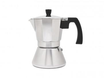 Espresso maker Tivoli aluminium 6cups with induction