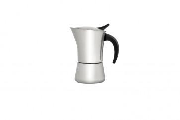 Espresso maker Ancona 6 cups matt s/s