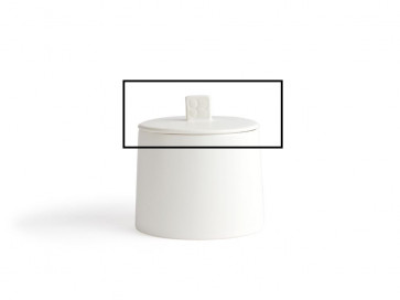 Lid with silicone ring for storage container Lund LD012W