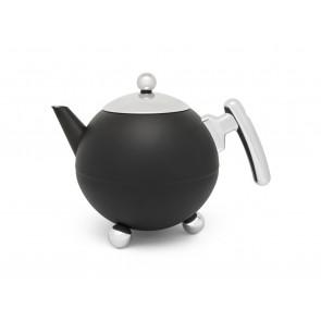 Teapot Duet® Bella Ronde 1.2L, matt black