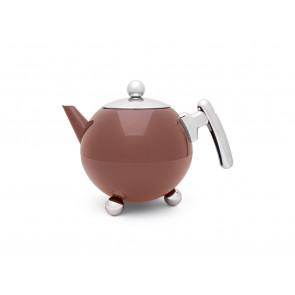 Teapot Bella Ronde 1.2L Vintage Pink