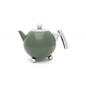 Teapot Bella Ronde 1.2L Smokey Green
