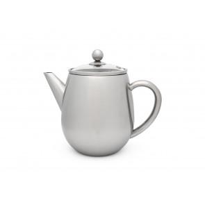 Teapot Duet Eva 1.1L satin finish