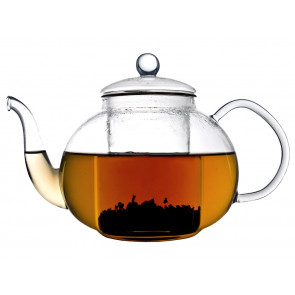 Verona Single walled Teapot Glass 1L