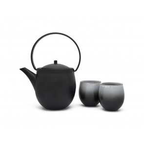 Gift set Sendai with 2 porcelain mugs