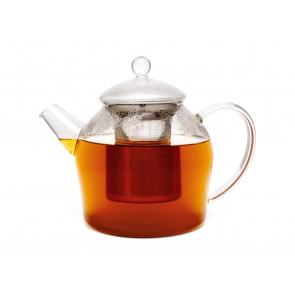 Glass Minuet teapot 1.2L with filter