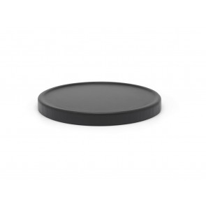 Coaster for teapot, black